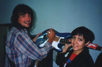 Mabel with Richie Sambora